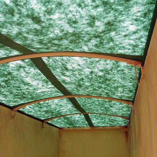 Grünes Vlies zur Wasserdichten Abdeckung auf den Containern