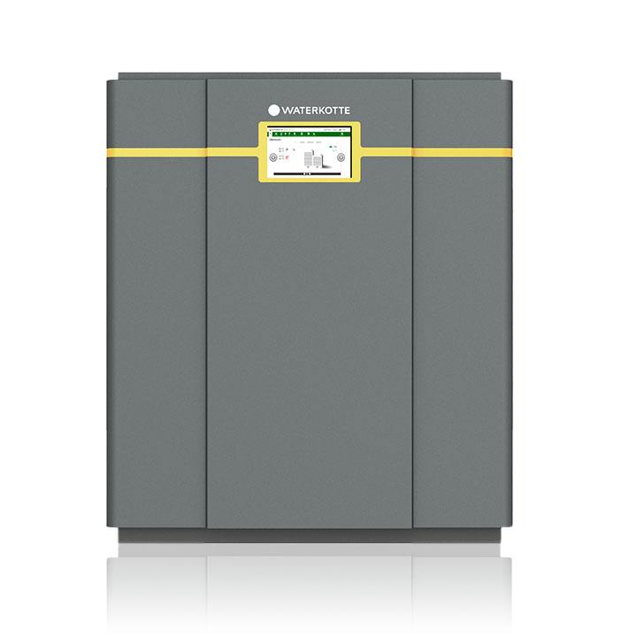 Wärmepumpen für Erdwärme mit Touch Bedieneinheit